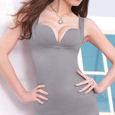 Audrey-魔塑美體 輕塑型背心(典雅灰)