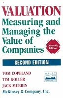 二手書博民逛書店《Valuation: Measuring and Managing the Value of Companies》 R2Y ISBN:0471009938