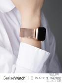 蘋果手錶錶帶iwatch4/3/2/1米蘭尼斯錶帶【極簡生活】