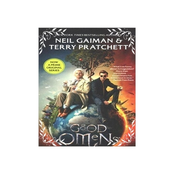 Good Omens(TV Tie-in)(The Nice and Accurate Prophecies of Agnes Nutter, Witch)(好預兆電視書衣版)