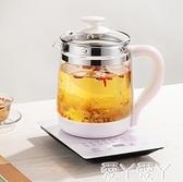 養生壺全自動玻璃加厚一體多功能電熱花茶壺家用煮茶器辦公室小型220V