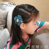 兒童花朵邊夾髮卡可愛頭飾品髮飾公主頭繩寶寶髮夾頭飾品   至簡元素