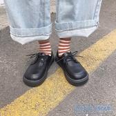 娃娃鞋女 軟妹小皮鞋女2020秋季新款日系圓頭娃娃鞋學生百搭可愛平底單鞋女 HD