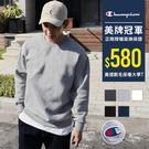 Champion 大學t 冠軍 刷毛上衣 素T 美國棉 電繡長袖上衣 【CH600】