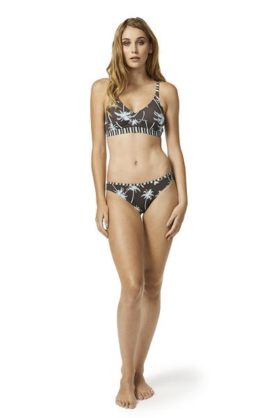 Piha 知名進口泳裝品牌 GATHERED BRAZILIAN PANT 比基尼褲-女(咖)