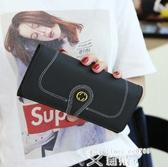 長皮夾 戀雅菲錢包女2020新款韓版潮百搭多功能大容量長款手機皮夾手拿包 艾維朵
