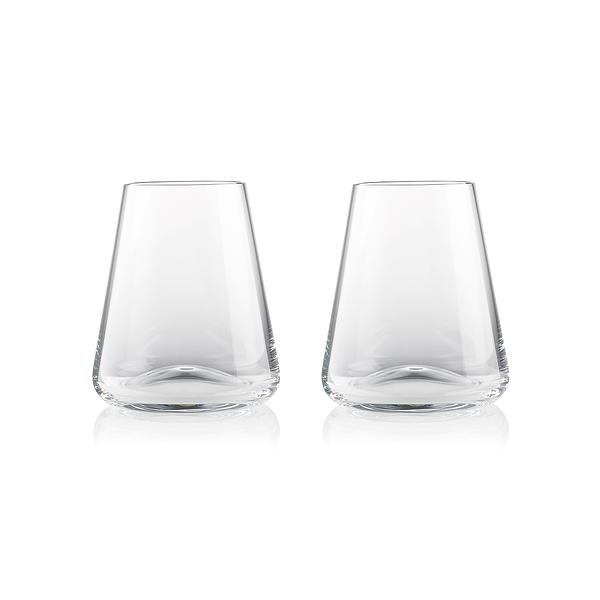 Rogaska Armonia S/2 Water Tumbler 400ml 達文西系列 手工水晶 威士忌酒杯 / 水杯 兩件組