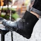 歐美時尚男雨鞋中筒雨靴防滑水鞋短筒膠鞋廚房洗車釣魚工作鞋 color shop