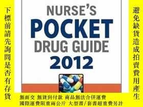 二手書博民逛書店Nurse s罕見Pocket Drug Guide 2012Y428012 Judith Barberio
