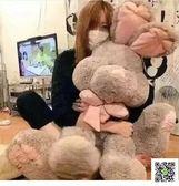 美國兔邦尼兔子公仔玩偶大號毛絨玩具布娃娃可愛睡覺抱女孩萌韓國  聖誕慶免運
