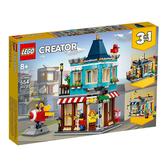 31105【LEGO 樂高積木】創意大師 Creator 系列 - 排屋玩具店 (554pcs)