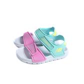 New Balance 運動鞋 涼鞋 魔鬼氈 白桃/藍色 小童 童鞋 IOSPSDCY-M no958