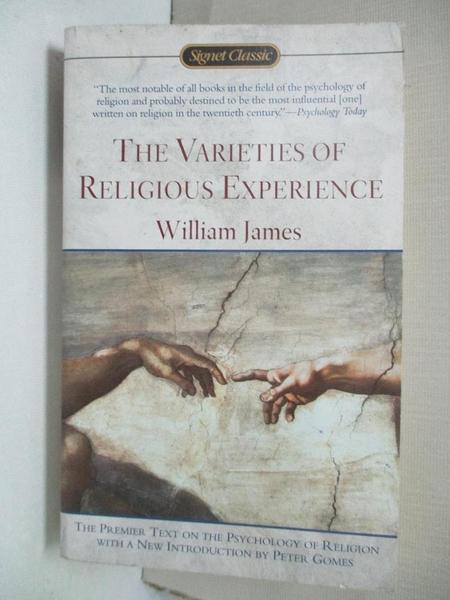 【書寶二手書T4/宗教_C92】The Varieties of Religious Experience_William James
