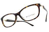 BVLGARI 光學眼鏡 BG4141BD 504 (琥珀棕) 低調小三角款 平光鏡框 # 金橘眼鏡