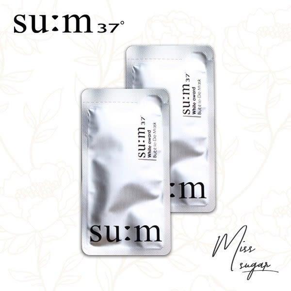 現貨 韓國頂級正品小樣SUM37呼吸 氧氣泡泡面膜【I000084】