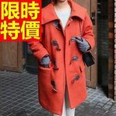 毛呢大衣-浪漫秋冬羊毛女長版外套2色62k37[巴黎精品]