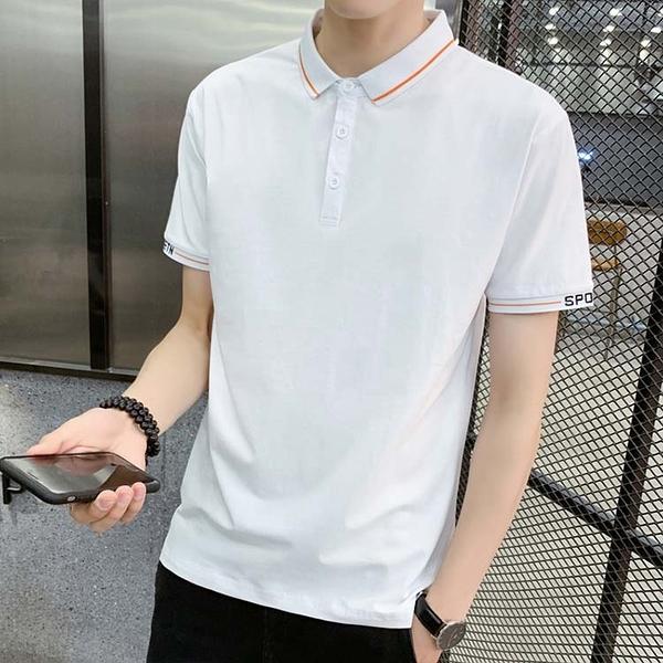 【型男精選任搭2件$699】短袖POLO衫簡約設計款潮流POLO衫