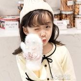 兒童手套秋冬季加絨加厚保暖女童寶寶卡通可愛小學生幼兒女孩冬天 暖心生活館
