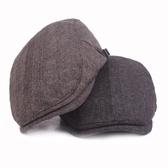 貝雷帽-秋冬棉質保暖純色男女鴨舌帽3色73tv20【時尚巴黎】