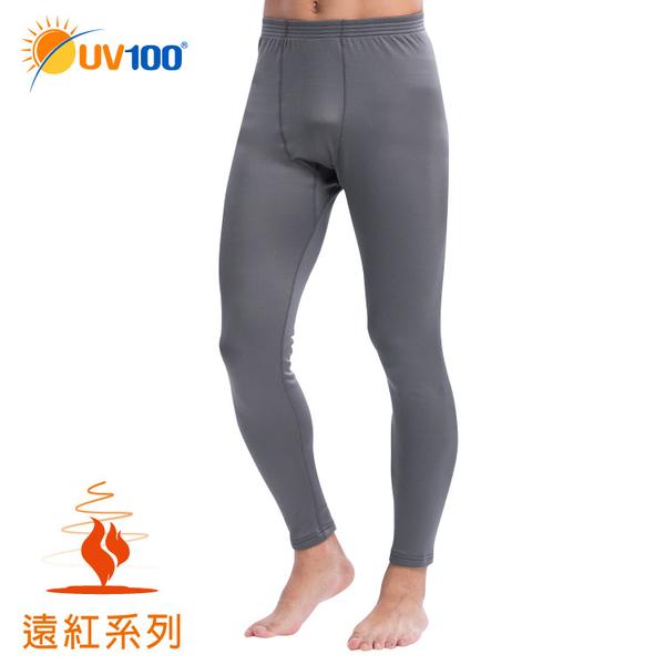 UV100 防曬 抗UV 遠紅-蓄熱保暖貼身刷毛長褲-男