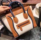 ■ 現貨在台■專櫃75折!全新真品Celine Nano Luggage 彩色平滑小牛皮袖珍型掛肩袋