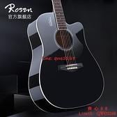 吉他初學者面單板女男生專用41寸新手木吉它【齊心88】