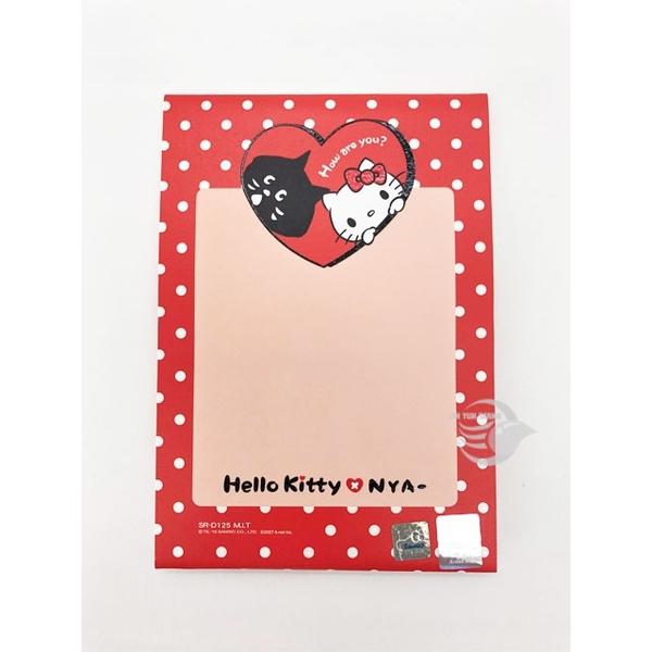 三麗鷗 SR-D125 HELLO KITTY X NYA 生日卡 立體造型 直式 卡片【金玉堂文具】