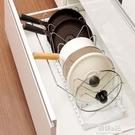 伸縮鍋蓋架多功能家居整理架 家用廚房菜板砧板架鍋架多層置物架ATF 韓美e站