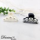 抓夾 現貨 韓國魅力簡約百搭珍珠中款抓夾 髮夾 髮飾 S8182 單個價 批發價 Danica 韓系飾品
