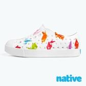 native 小童鞋 JEFFERSON 小奶油頭鞋-摺紙白