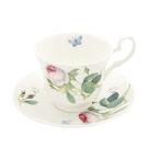 新品!英國Roy kirkham 玫瑰花園系列 - 230ml花茶杯盤組