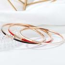鈦鋼手環 時尚設計個性簡約款鈦鋼流行手環