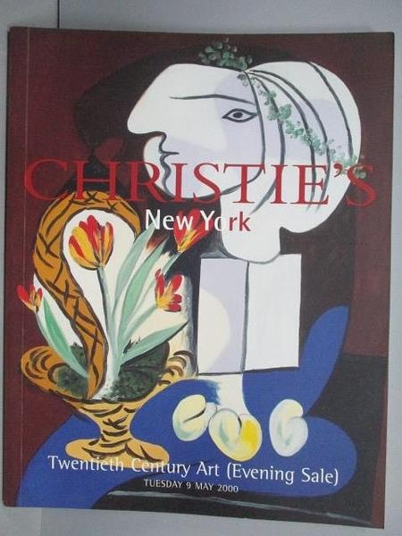 【書寶二手書T4/收藏_PFB】Christie s_Twentieth Century Art_2000/5/9