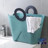 臟衣籃 臟衣服收納筐家用裝衣洗衣藍放衣物臟衣簍簡約【古怪舍】