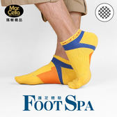 瑪榭 腳踝足弓船襪L-黑灰/丈紅/黃藍(25~27cm)【愛買】