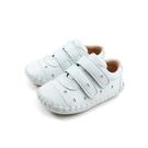 兒童鞋 休閒鞋 魔鬼氈 白色 星星 小童 500308-01 no156