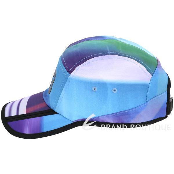 Y-3 AOP 渲彩條紋拼接棒球帽 1720081-E9