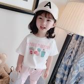 女童t恤短袖夏裝新品兒童洋氣上衣 小童打底衫潮女寶寶體恤夏 鉅惠85折
