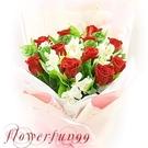 紅色熱愛 --情人花束.生日花束.聖誕花束