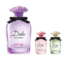 周年慶特惠組【Dolce & Gabbana】浪漫花園淡香精75ml+Dolce系列5ml*2+品牌針管3支