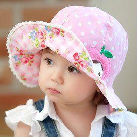 *甜蜜蜜親子童裝*百搭《小碎花雙面載》甜美遮陽帽