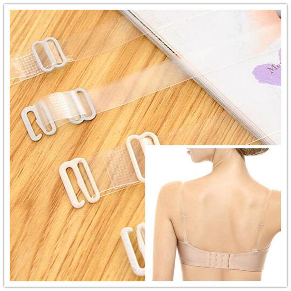 【TT16】磨砂透明隱形肩帶性感文胸帶高彈力內衣不鏽鋼防滑帶