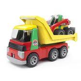 德國BRUDER 仿真大型車 幼兒版 卡車與鏟土車