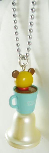 【震撼精品百貨】Tenorikuma 拿鐵熊~鎖圈鑰匙圈吊飾『鈴』