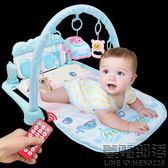 嬰兒健身架器0-1歲新生兒0-3-6個月女寶寶女孩腳蹬琴音樂玩具男孩