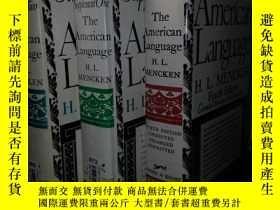 二手書博民逛書店The罕見American language 門肯《美國語言》,
