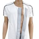 【DR.Paul】全開式護理短袖上衣-白...