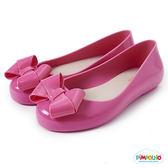 PIMPOLHO 甜美蝴蝶結娃娃鞋-童-粉桃紅