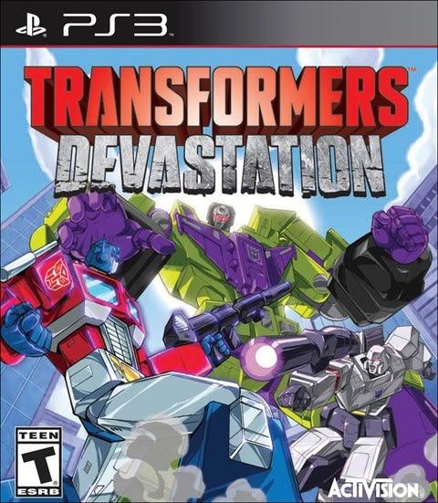 PS3 Transformers Devastation 變形金剛:毀滅行動(美版代購)
