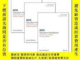 二手書博民逛書店Valuation罕見Handbook: Guide to Cost of Capital 2015 Quarte